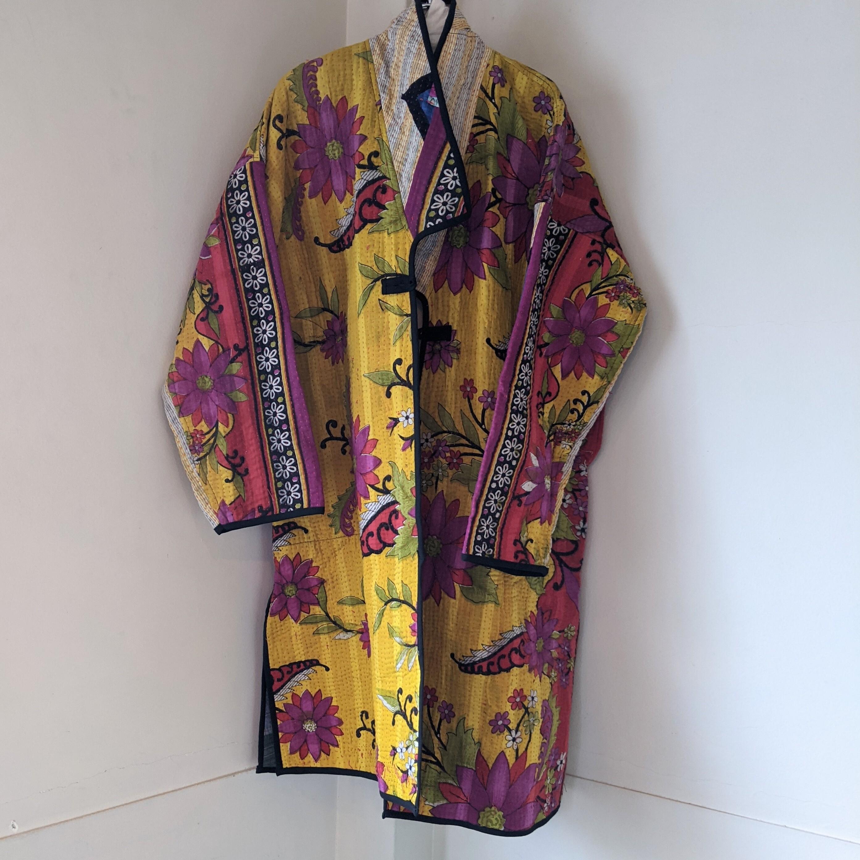【 saruche 】サルーチェ / gudri long coat / グドゥリー / 1点物