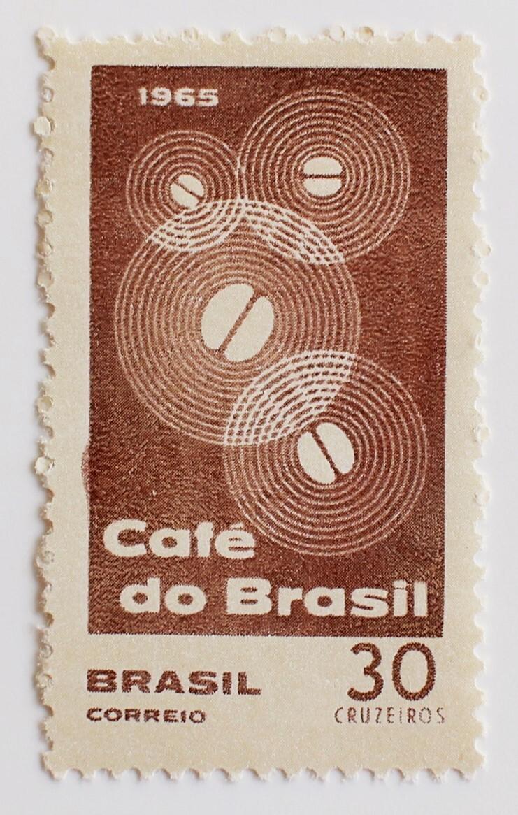 コーヒー豆 / ブラジル 1965