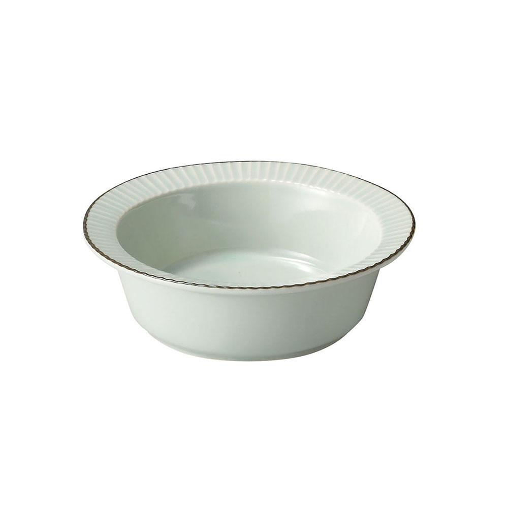 「ティント Tint」スープ サラダボウル 皿 M 約14cm ライトブルー 美濃焼 289017