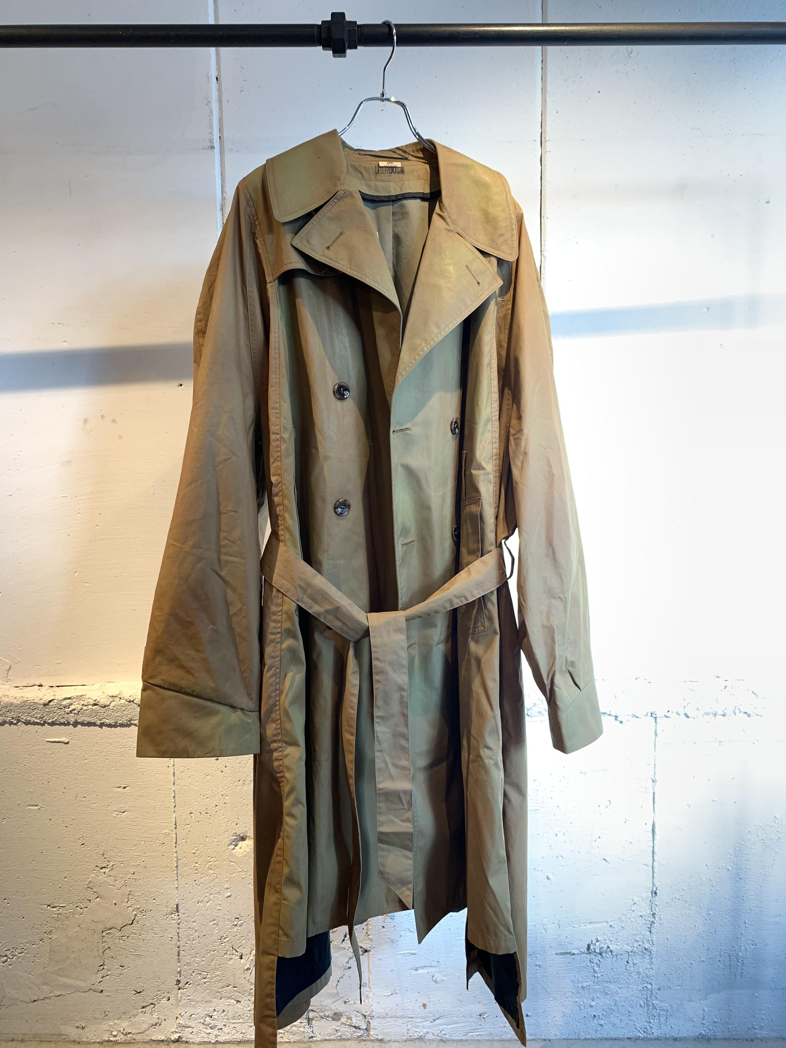 77CIRCA   circa make switching wide coating trench coat