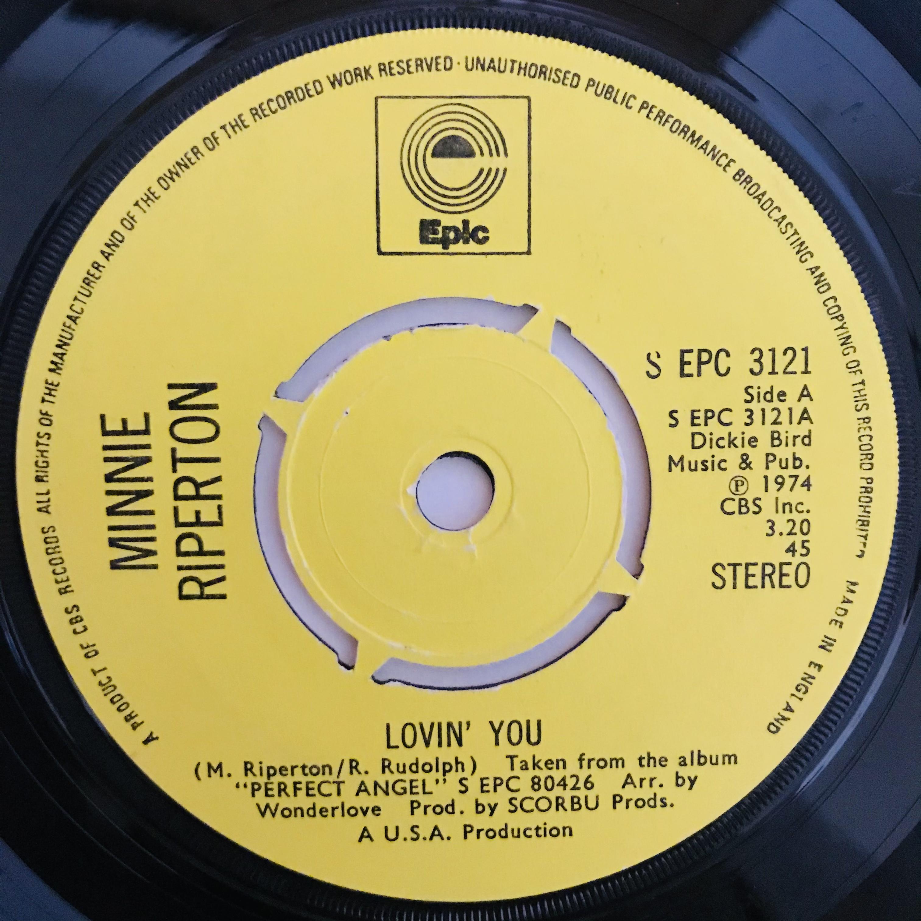 Minnie Riperton - Lovin' You【7-10974】