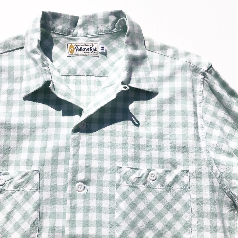 "Yellow Rat ""Long Sleeve Round Collar Shirts"""