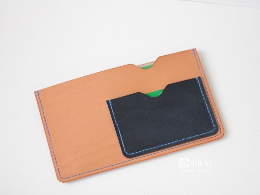 ◆刻印可◆はじめての通帳&キャッシュカードケース ナチュラル