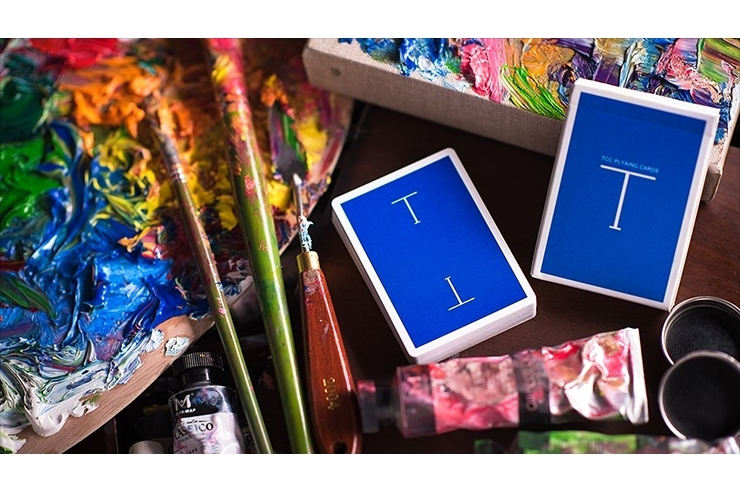 Classic T (Blue) Playing Cards