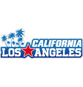 "041 Cal-Los ""California Market Center"" アメリカンステッカー スーツケース シール"