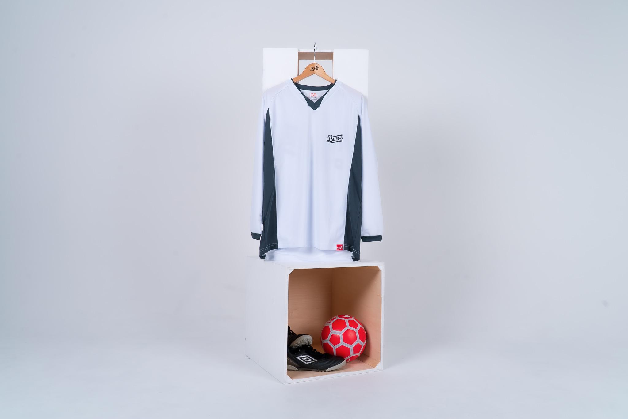 blazz sports soccer practice shirt [WHITE]