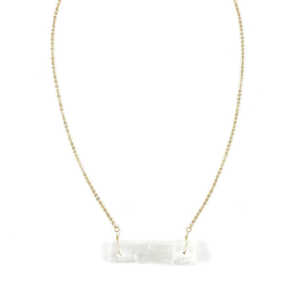 Ariana Ost Selenite Necklace セレナイトネックレス