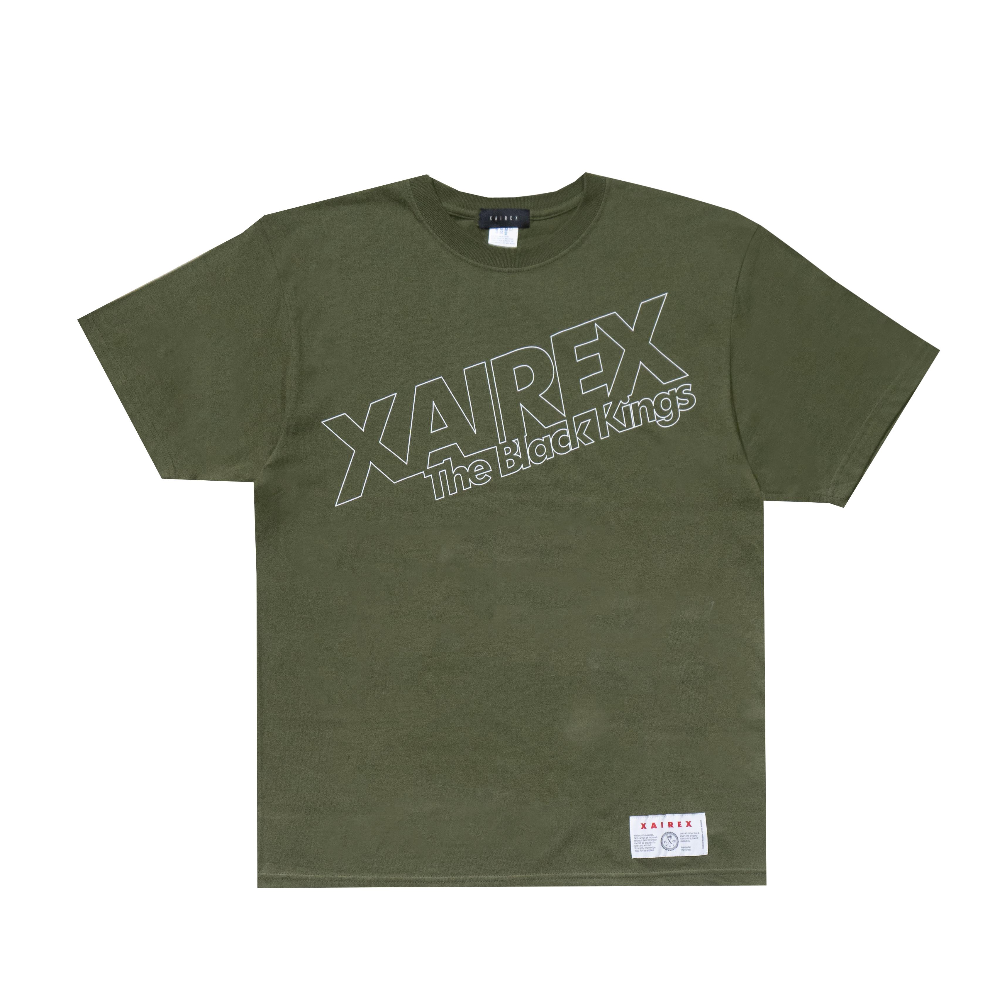 """XAIREX ALEX TEE """"OLIVE""""[XAI-42]"""