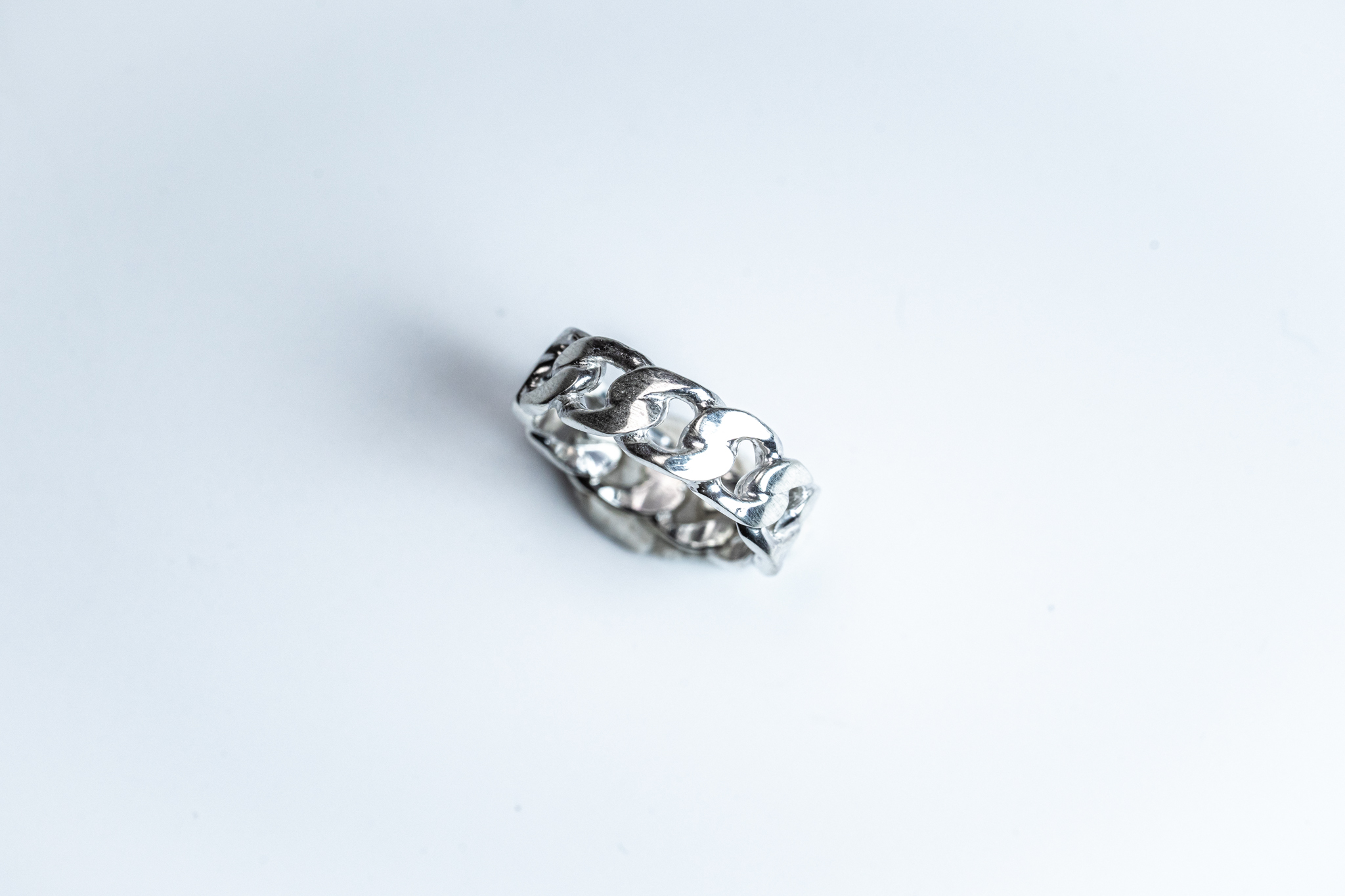 R-049  Gourmette(グルメット)Chain ring  M