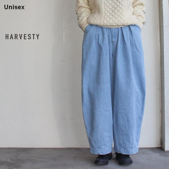 HARVESTY デニムサーカスパンツ CIRCUS PANTS A11801 (ライトブルー)