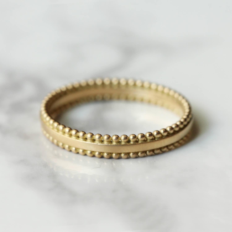 Grain ring :mat / K18