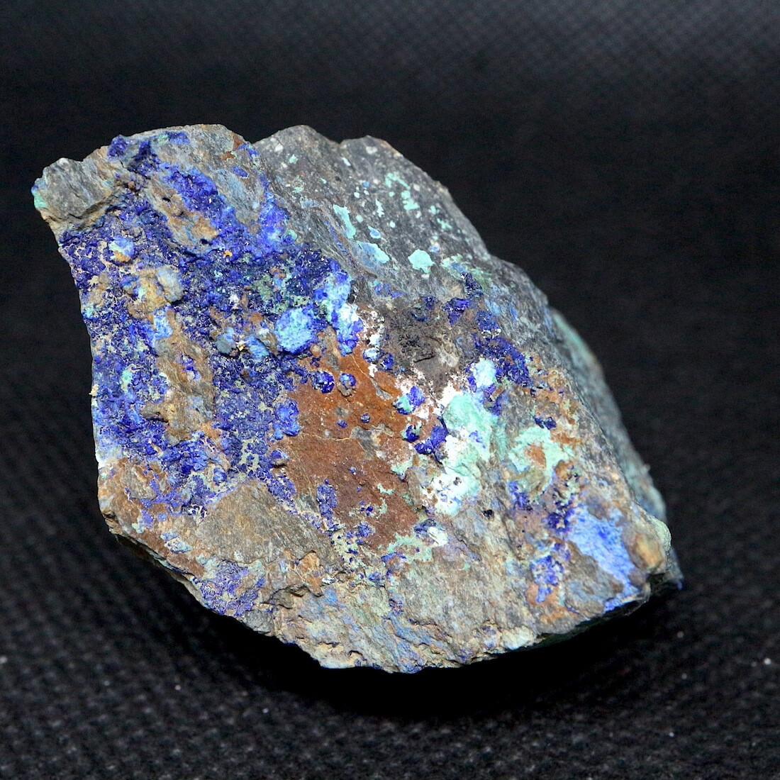 カリフォルニア産 アズライト + マラカイト アジュライト  59,9g 原石 鉱物 標本 AZR010 パワーストーン 天然石