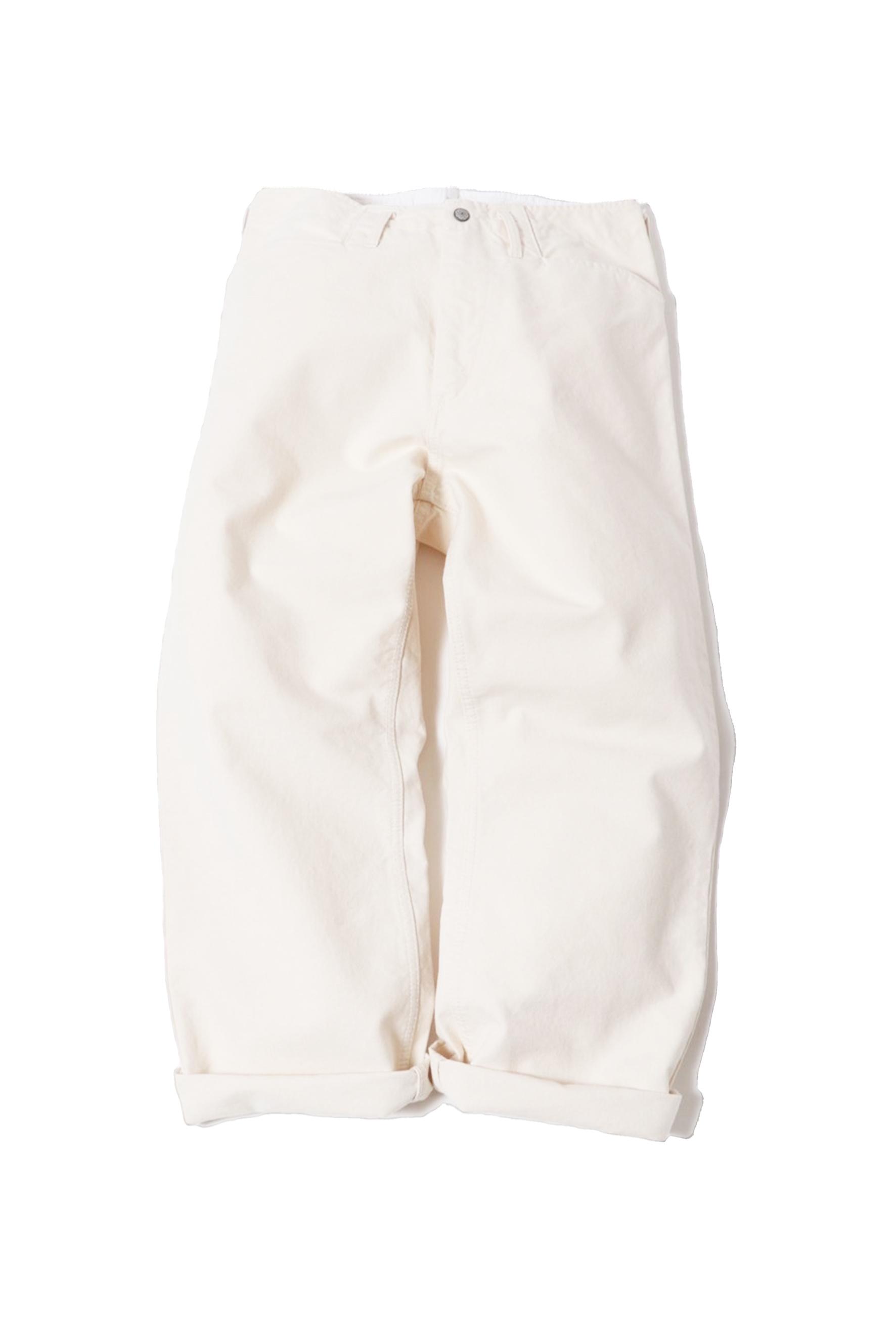 13.5oz Canvas Frisco Pants / one wash / natural