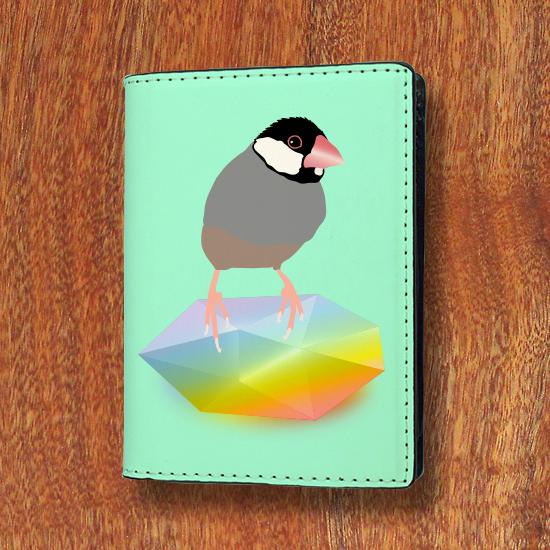 きみたろちゃん×ことりちゃん 桜文鳥 カードケース
