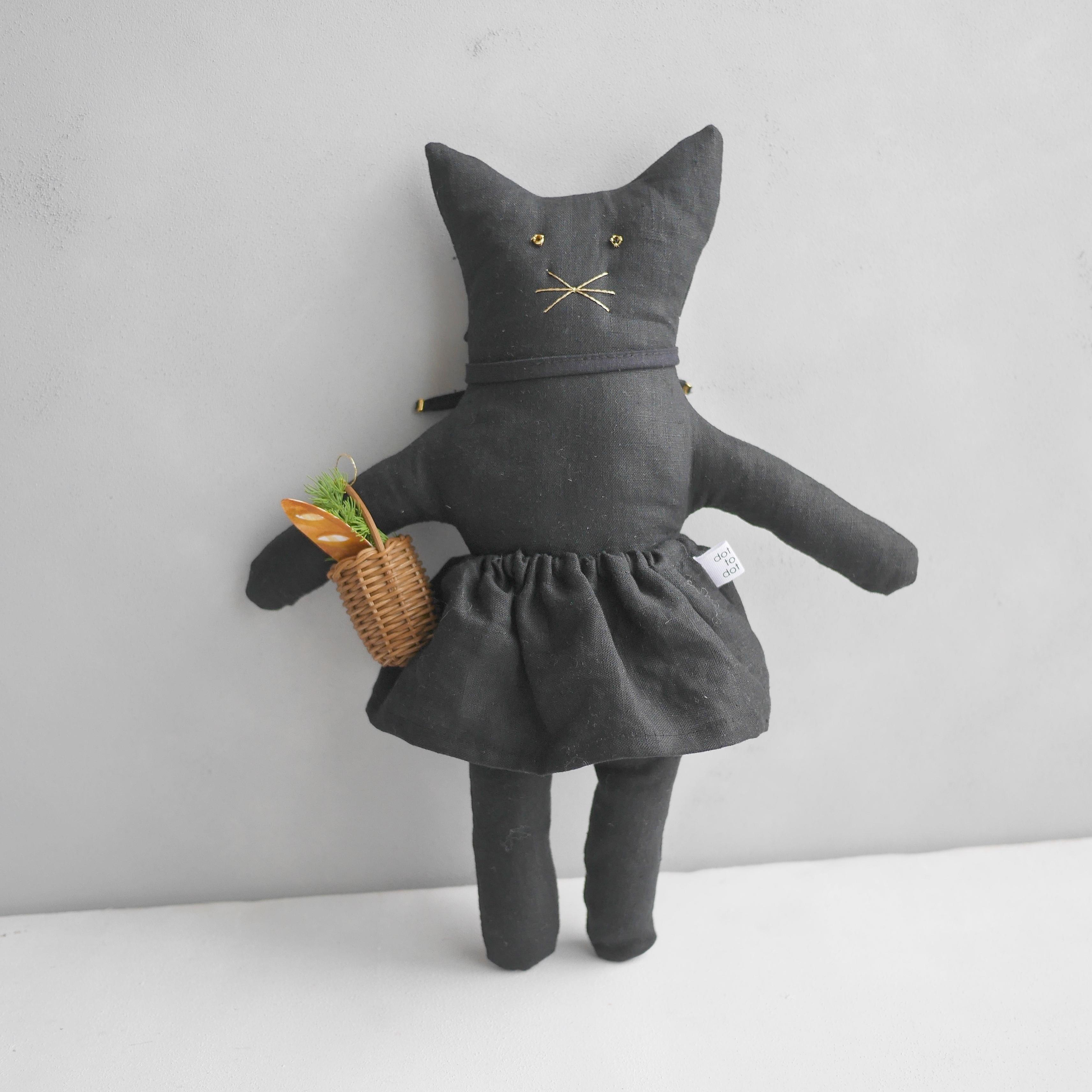 猫のバーキン ブラック