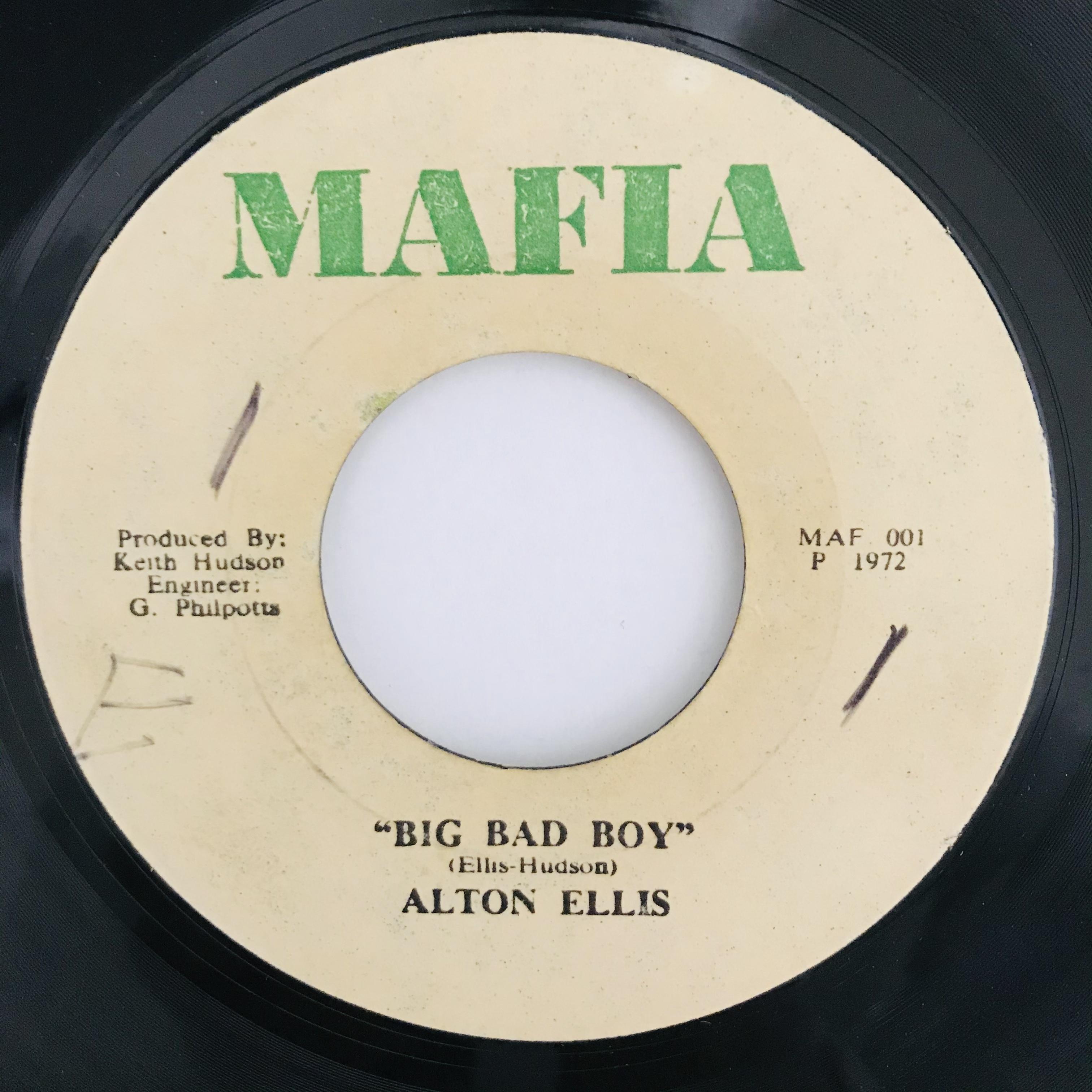 Alton Ellis -  Big Bad Boy【7-10995】
