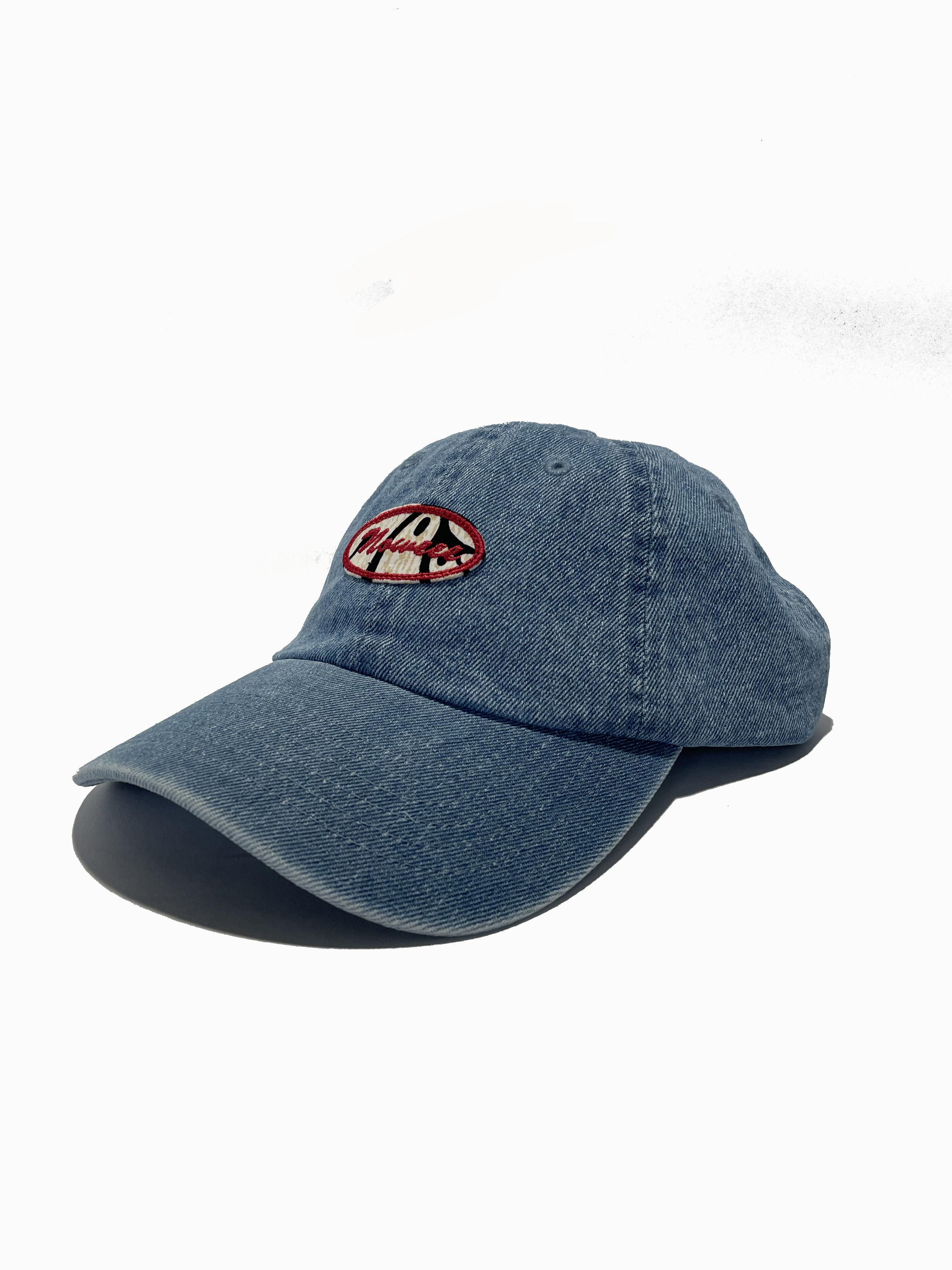 キャップ ローキャップ 【ライトブルーデニム】 帽子