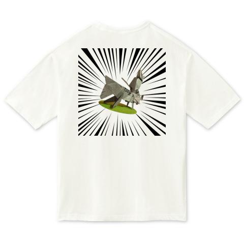 【裏面】犬の交尾(オリガミ) / ビッグシルエットTシャツ (United Athle)