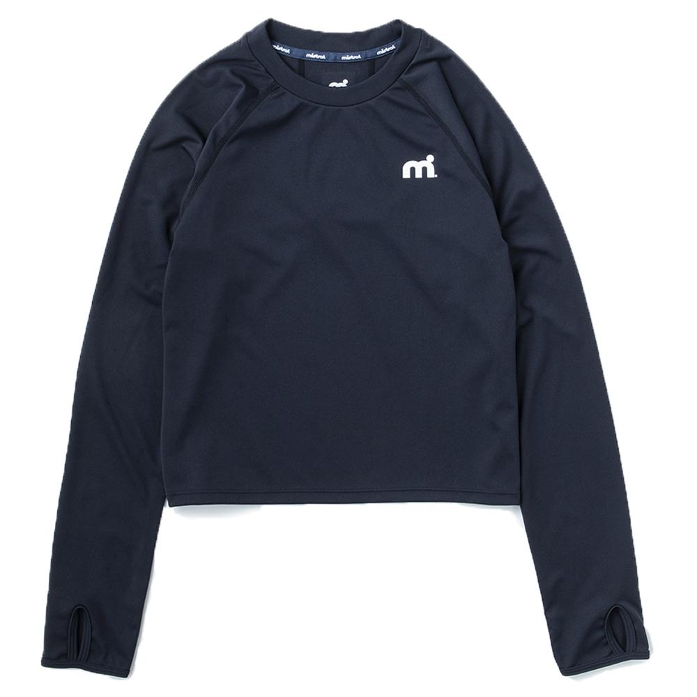 ミストラル ウィメンズ【ミストアクティブロングTシャツ】BLACK