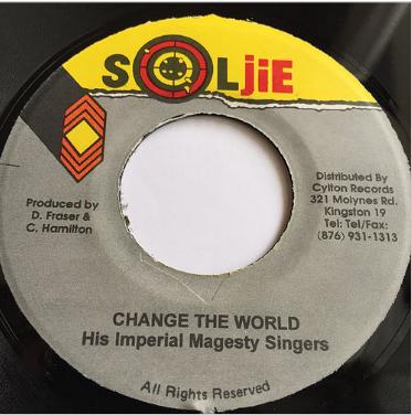 His Imperial Magesty Singers(ヒズインペリアルマジェスティシンガーズ) - Change The World【7'】