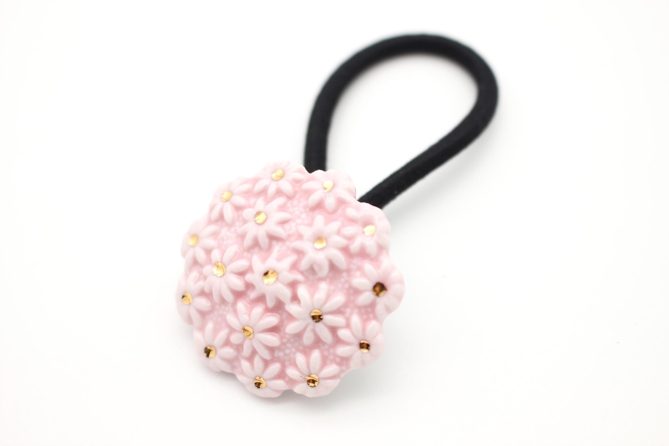 有田焼ヘアゴム flower ②