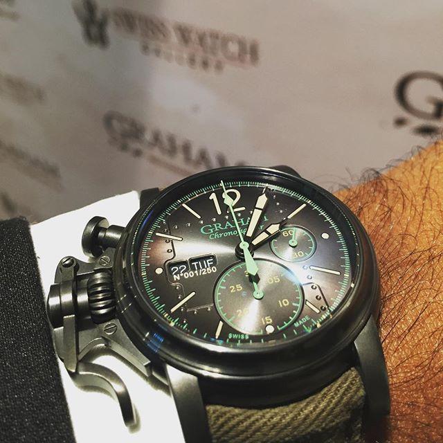 【GRAHAM グラハム】Chronofighter Vintage Aircraft Ltd クロノファイターヴィンテージ エアクラフト(カーキ)世界限定250本/国内正規品 腕時計
