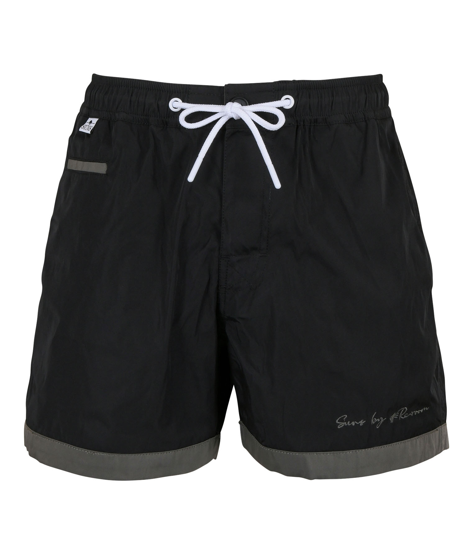 SUNS WFACE LOGO EMBROIDERY BOARD SHORTS[RSW045]