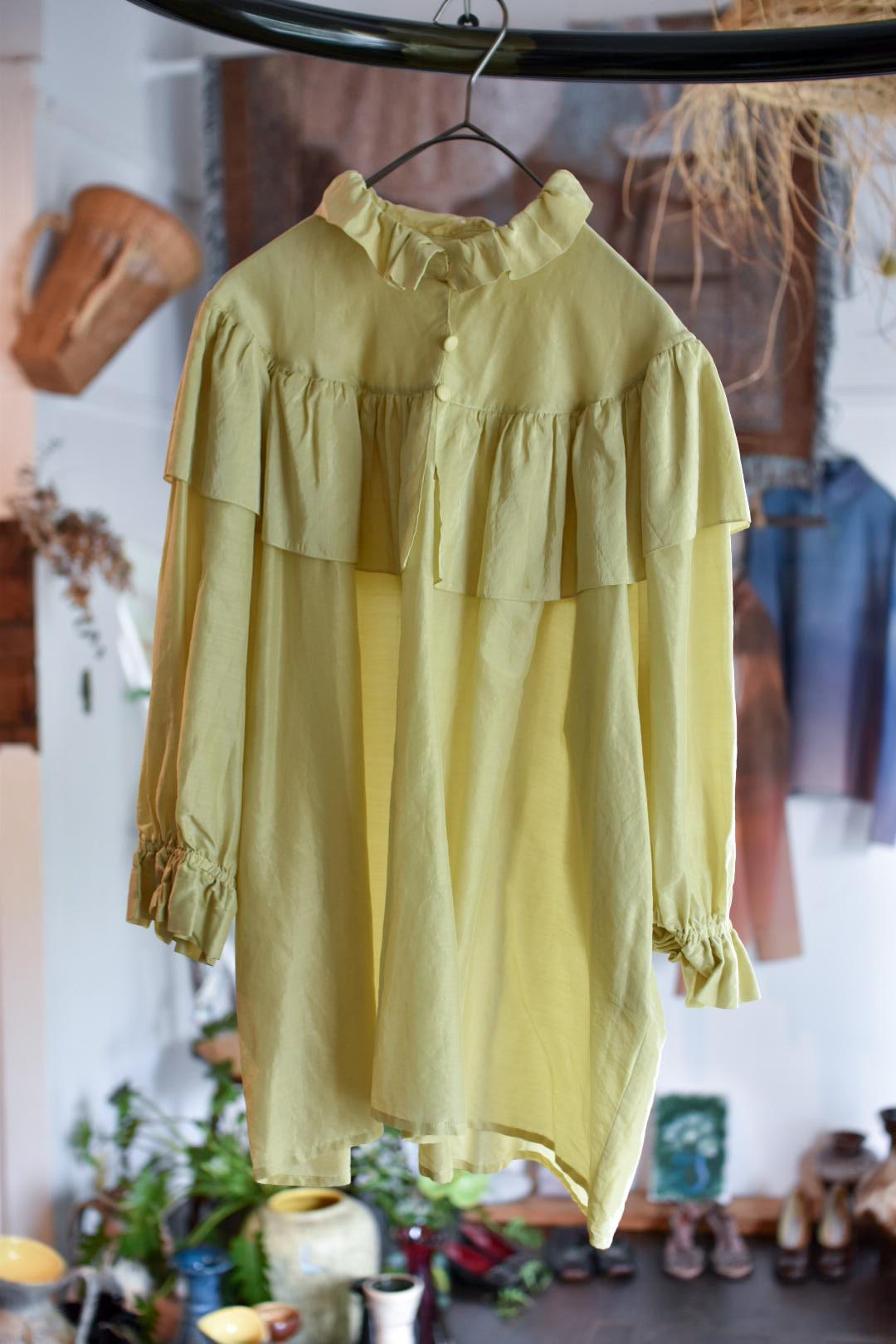 Yves Saint Laurent fril blouse