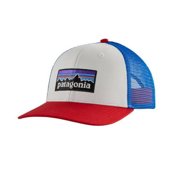 パタゴニア PATAGONIA P-6ロゴ・トラッカー・キャップ 38289 White 【正規取扱店】