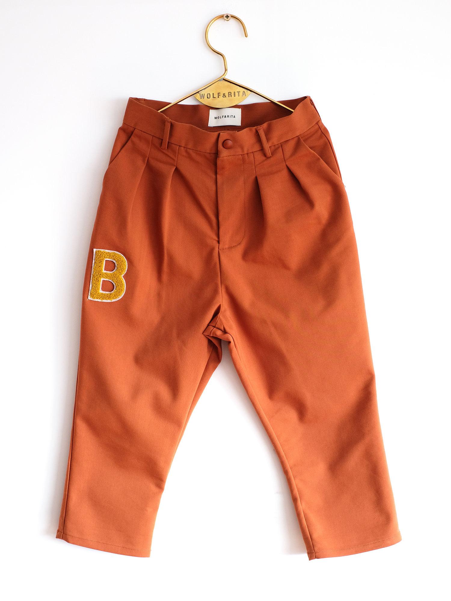 《WOLF & RITA 2017AW》Andre trousers / orange