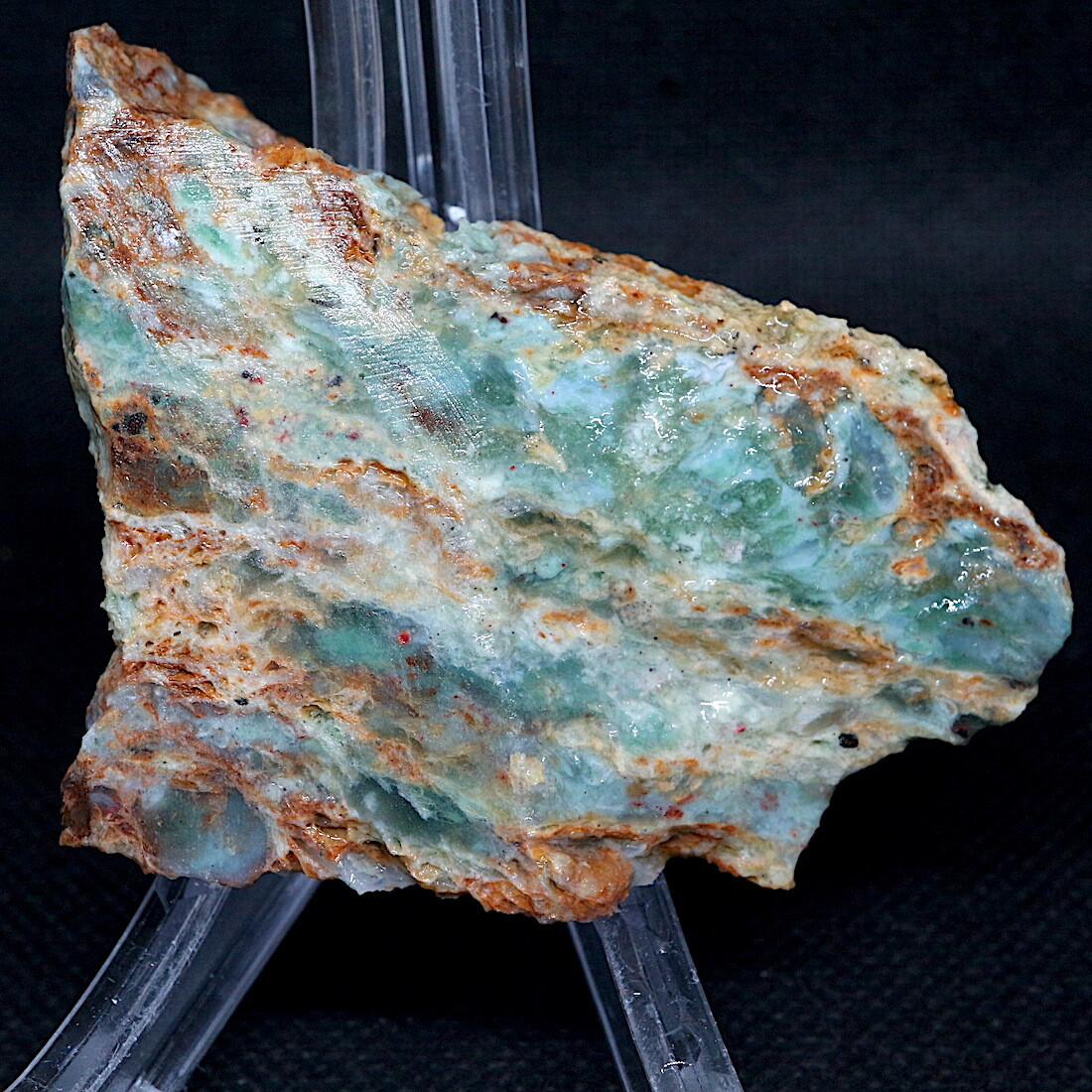 自主採掘!プラズマアゲート 51,4g AG151 原石 天然石 鉱物 パワーストーン