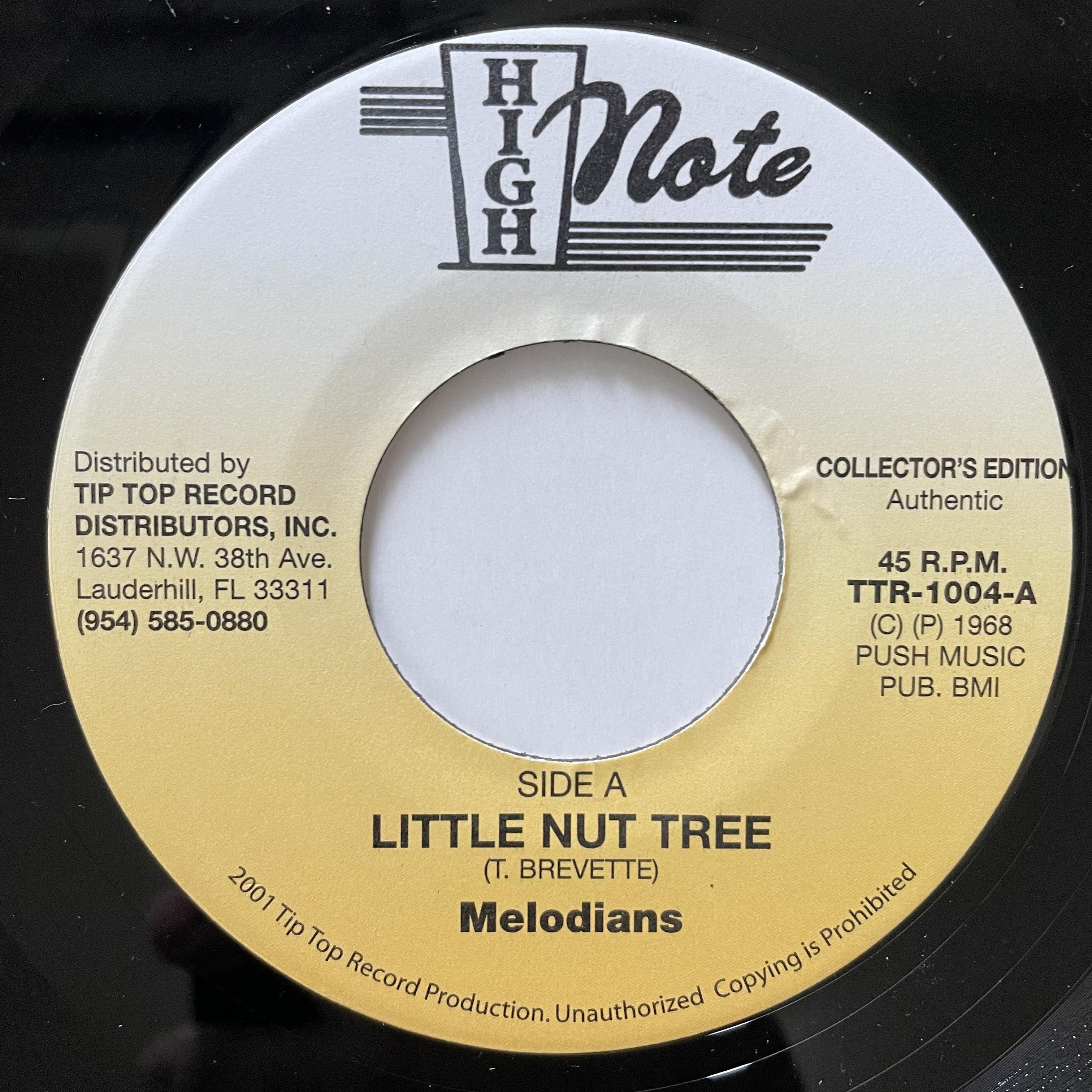 Melodians - Little Nut Tree【7-20709】