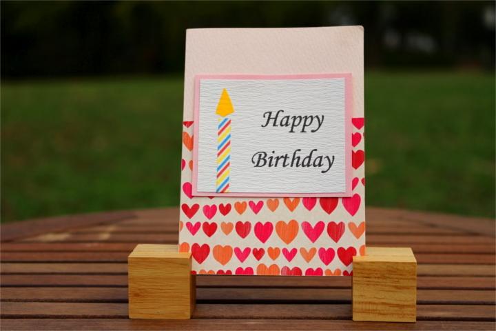 "Shiori のメッセージカード ""Happy Birthday""_1"