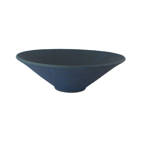 若狹祐介 狭底鉢18cm 藍香