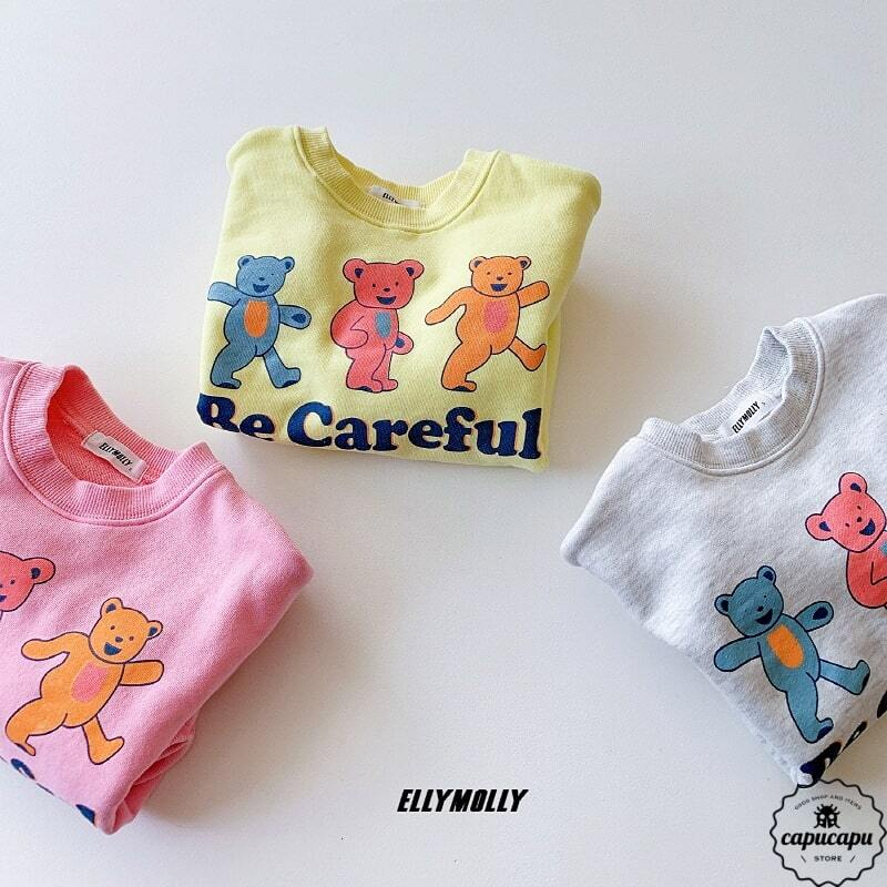 «sold out» Be Careful bear sweat 3colors ベアースウェット