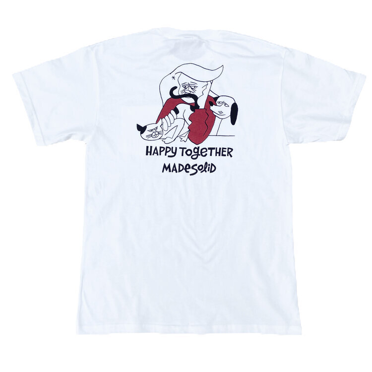 Happy Together project_TEE by Made Solid / Yusuke Hanai