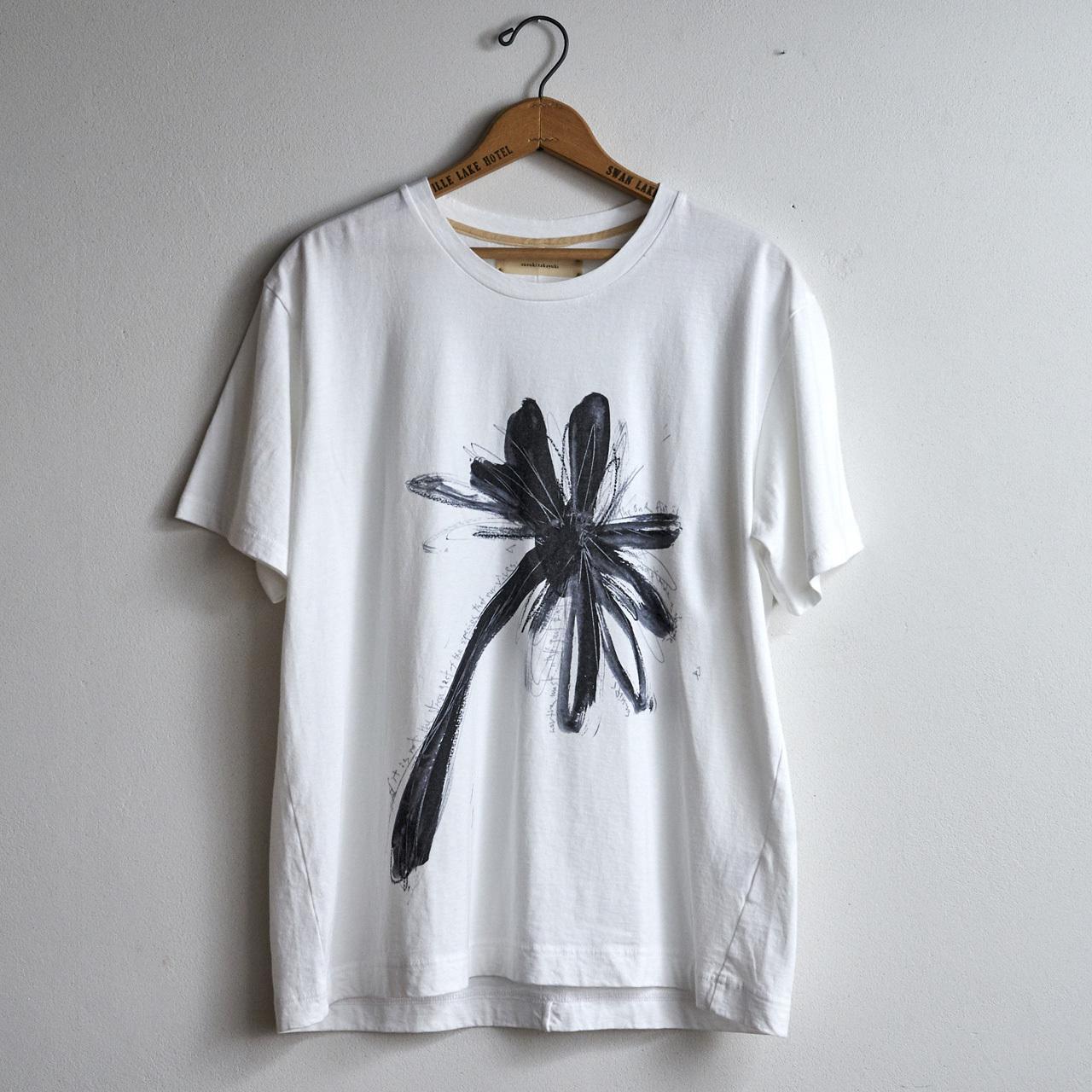 suzuki takayuki スズキタカユキ printed t-shirt プリントtシャツ (メンズ)