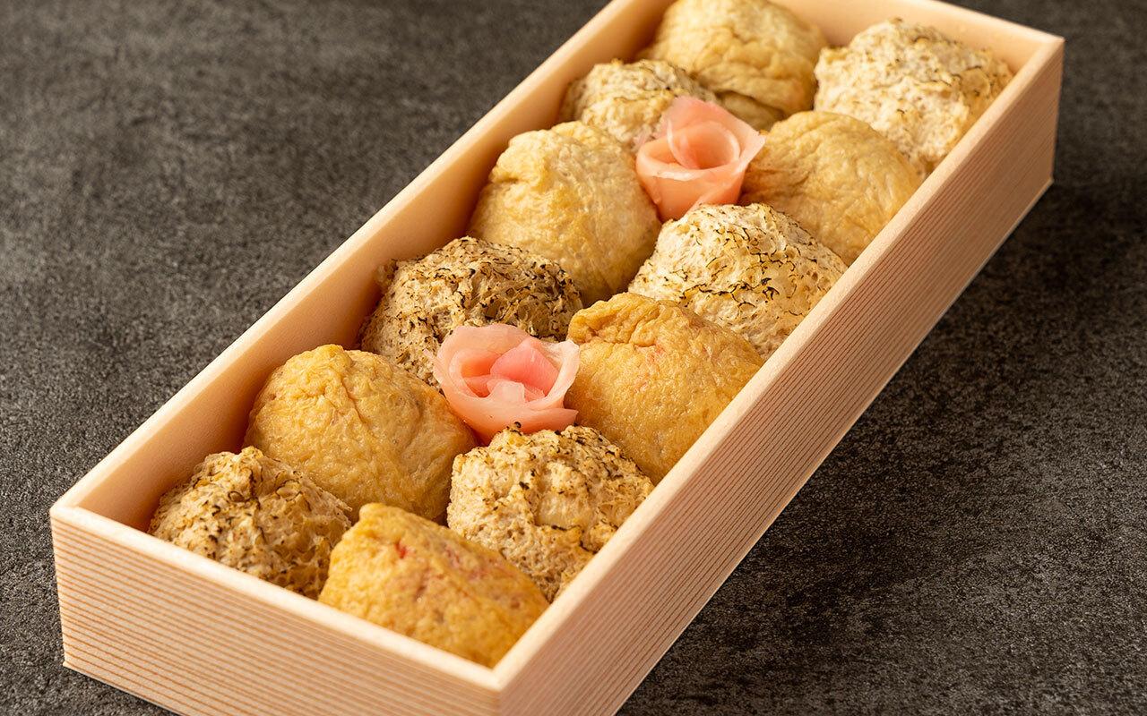 伊奈利寿司と秘伝の塩伊奈利の詰め合わせ 1セット12個入り