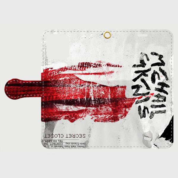 【スマホケース】 手帳型① ミハイルギニスアオヤマ  オリジナル [送料/税込]