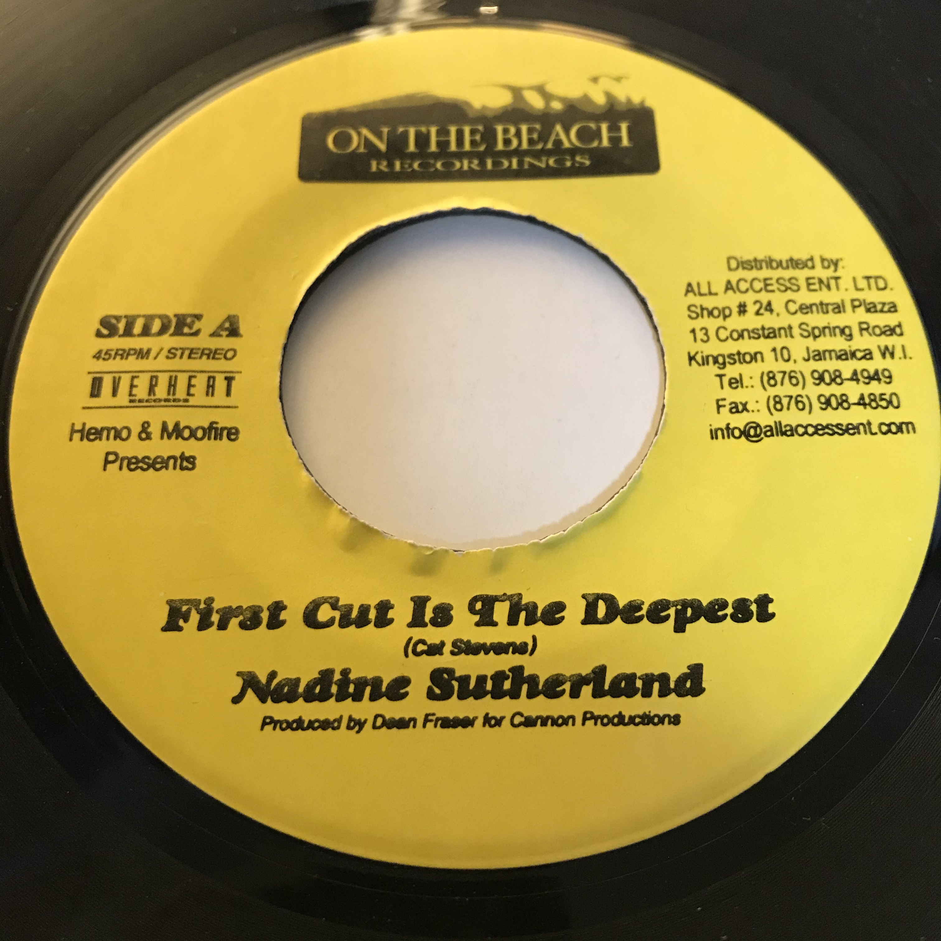 Nadine Sutherland - First Cut Is The Deepest【7-10858】