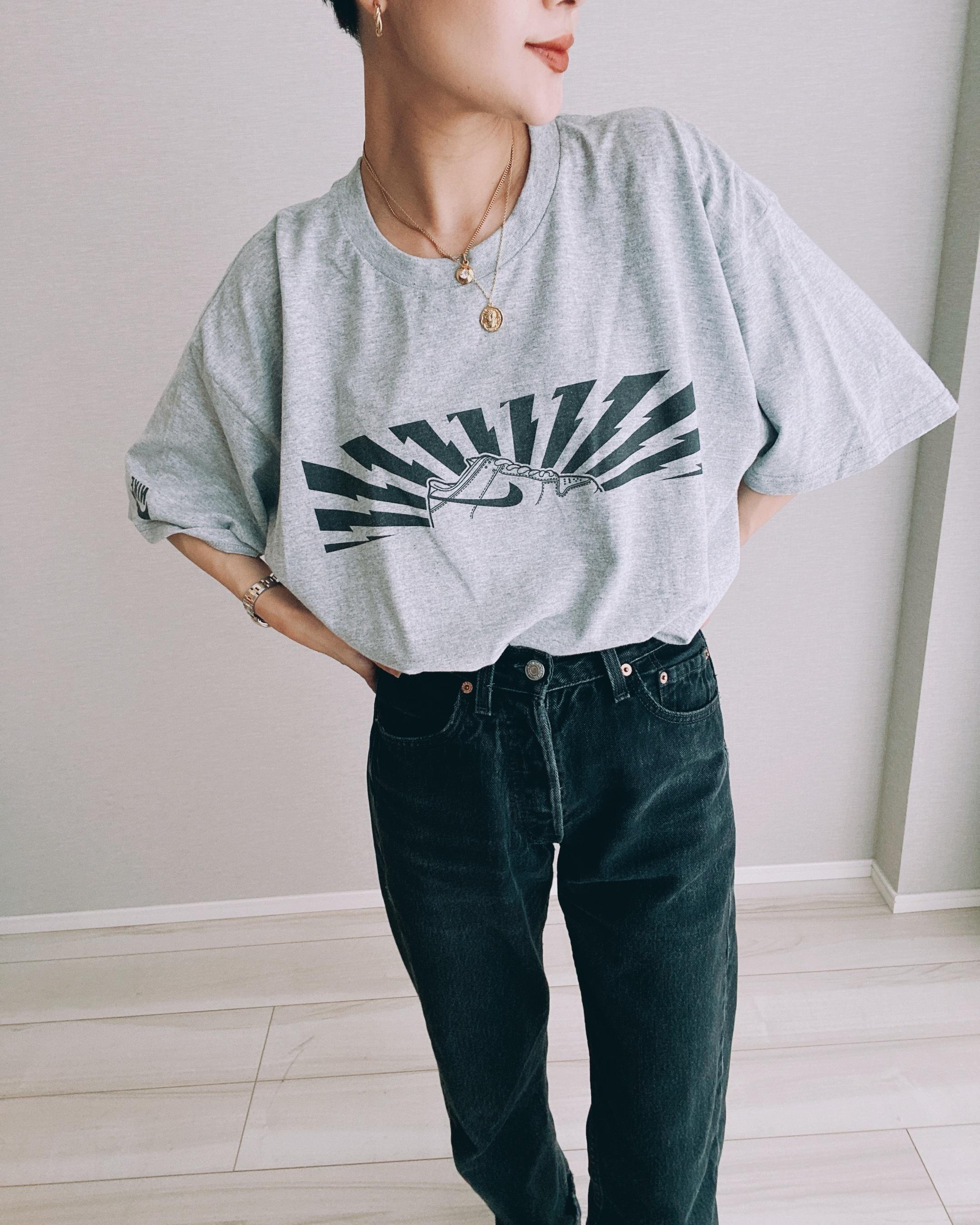 (CS432)NIKE printed T-shirt