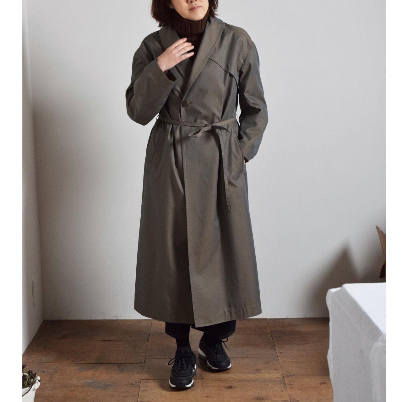 【the Sale!  50%off 】ohta オオタ tamamushi coat