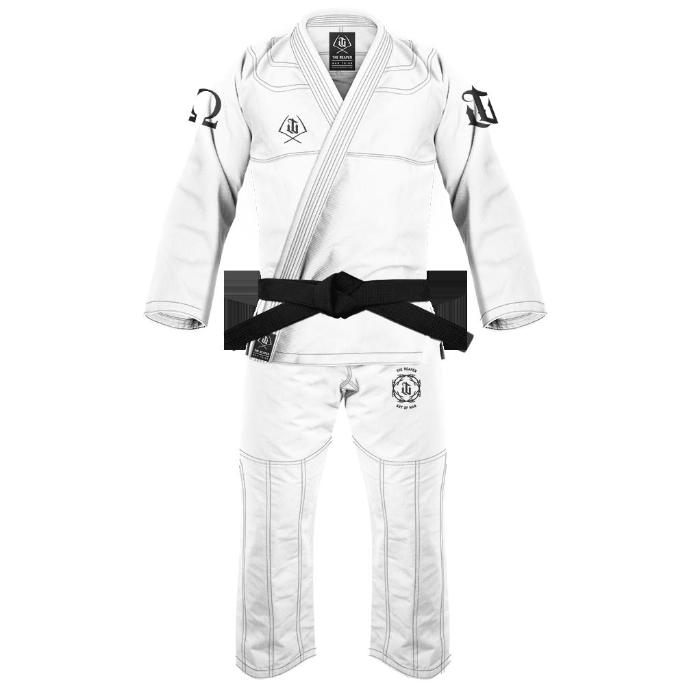WAR TRIBE GEAR  REAPER GI  ホワイト ブラジリアン柔術衣(柔術着)