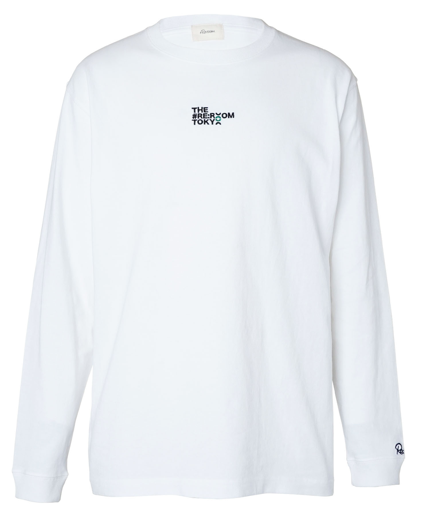 FRONT EMBROIDERY LONG SLEEVE[REC525]