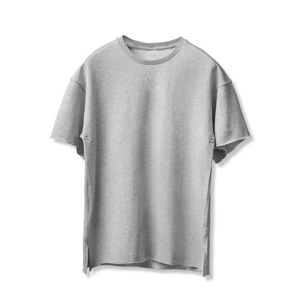 完売御礼【ASRV】フレンチテリーオーバーサイズTシャツ - Heather Grey