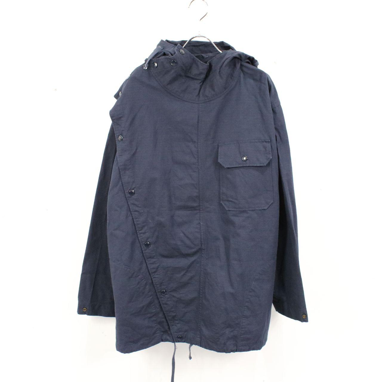 Engineered Garments / エンジニアドガーメンツ | Sonor Shirt Jacket-Cotton Ripstop ソナーシャツジャケット | S | ネイビー | メンズ