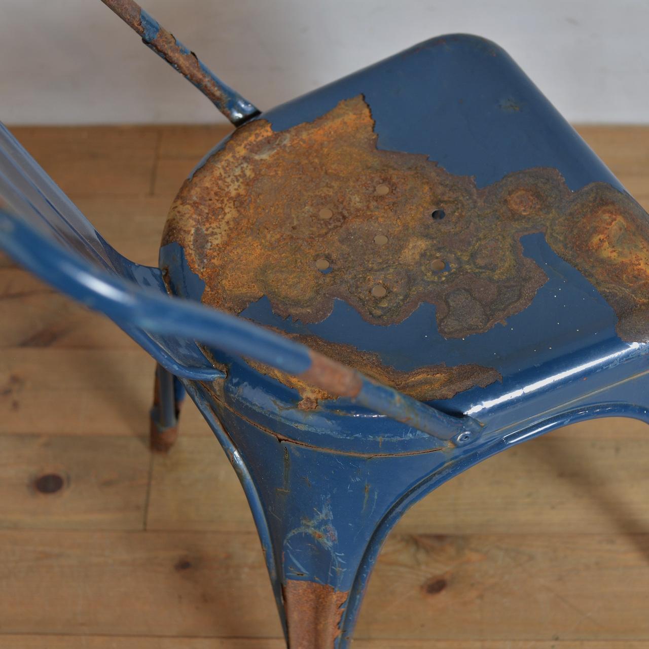 Iron Chair / アイアン チェア 【A】 〈インダストリアル・ガーデニング・ダイニングチェア・店舗什器〉AL1910-0004