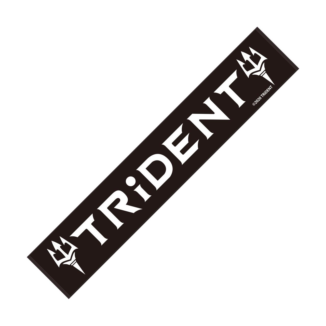 TRiDENT / マフラータオル ロゴ