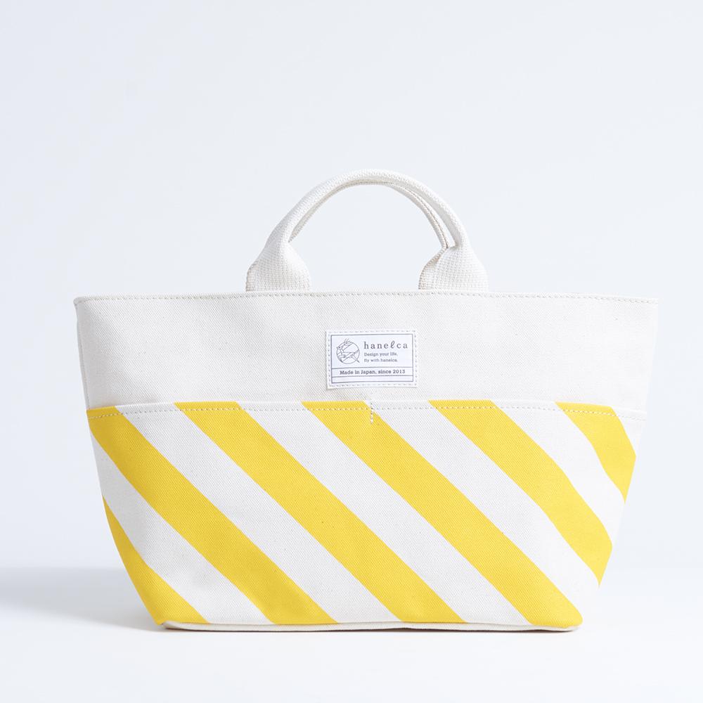 picnic tote/dandelion x stripe, scale, dot ピクニックトート / 蒲公英 x 縞・鱗・水玉