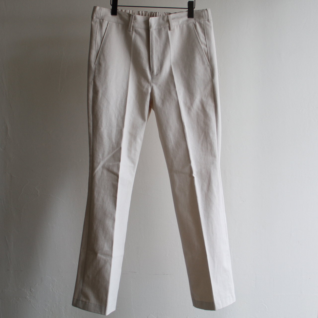 IS-NESS【 mens 】trucker flared pants